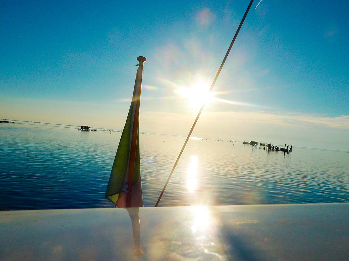 Diari di viaggio – In barca a vela naturista per la laguna di Venezia