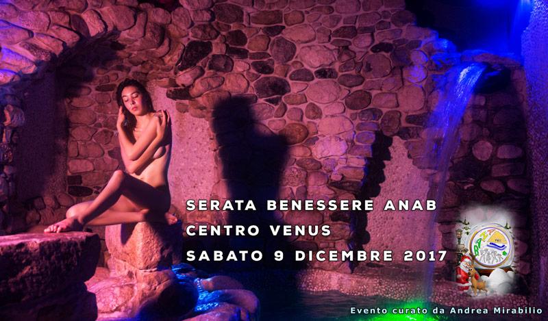 SABATO SERA AL CENTRO BENESSERE VENUS- 9 DICEMBRE 2017