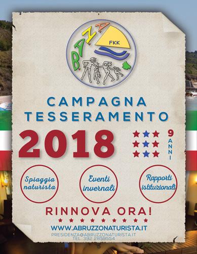 CAMPAGNA TESSERAMENTO 2018