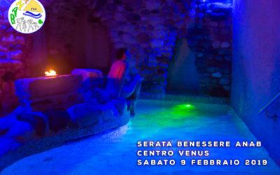 Serata benessere Venus – 9 febbraio 2019