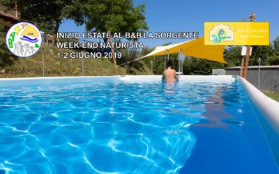 """Inizio dell'estate naturista al B&b """"La Sorgente"""" – Catignano"""