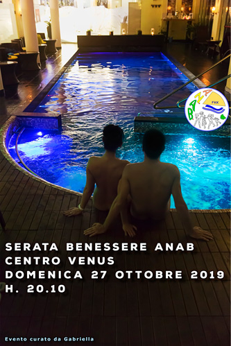 Nuova stagione SPA – 27 ottobre 2019 – Centro Venus