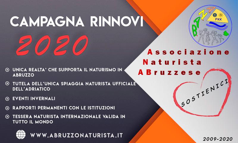 Campagna rinnovi 2020
