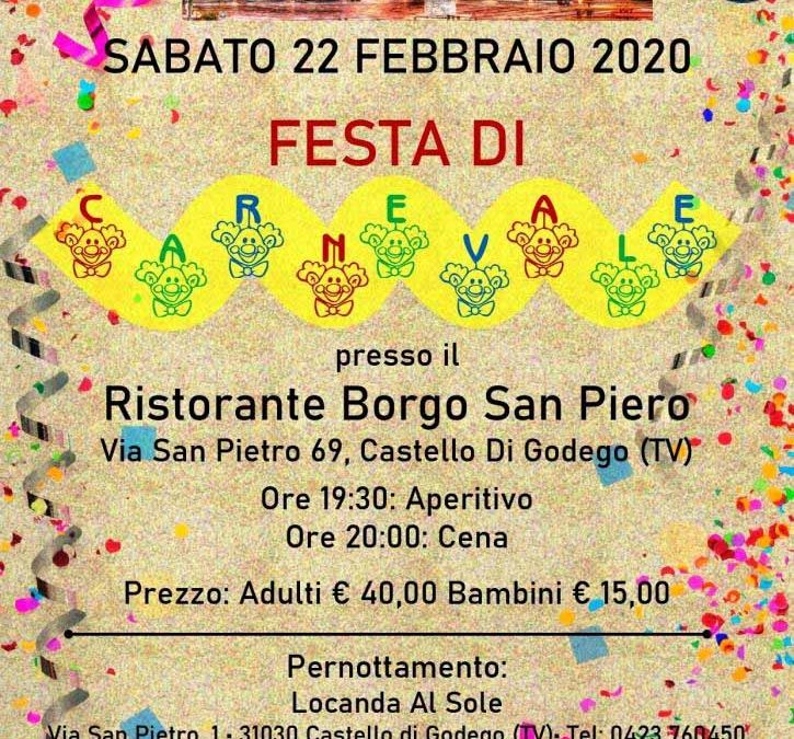 Festa di Carnevale in Veneto 22/23 febbraio