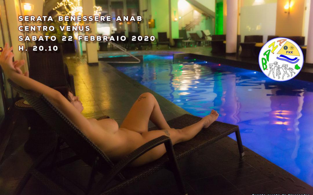 Serata benessere al Venus – sabato 22 febbraio 2020