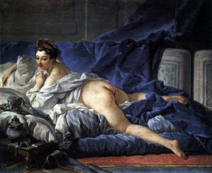 François Boucher, Odalisca bruna, 1745