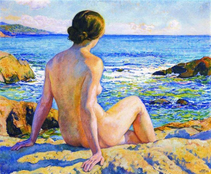 Riposo estivo di Theo van Rysselberghe - 1922
