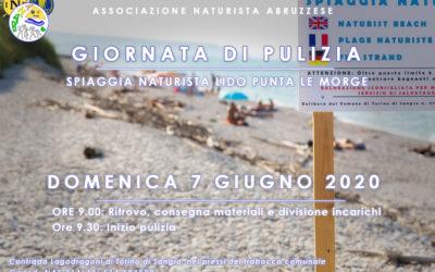 Giornata di pulizia a Lido Punta Le Morge