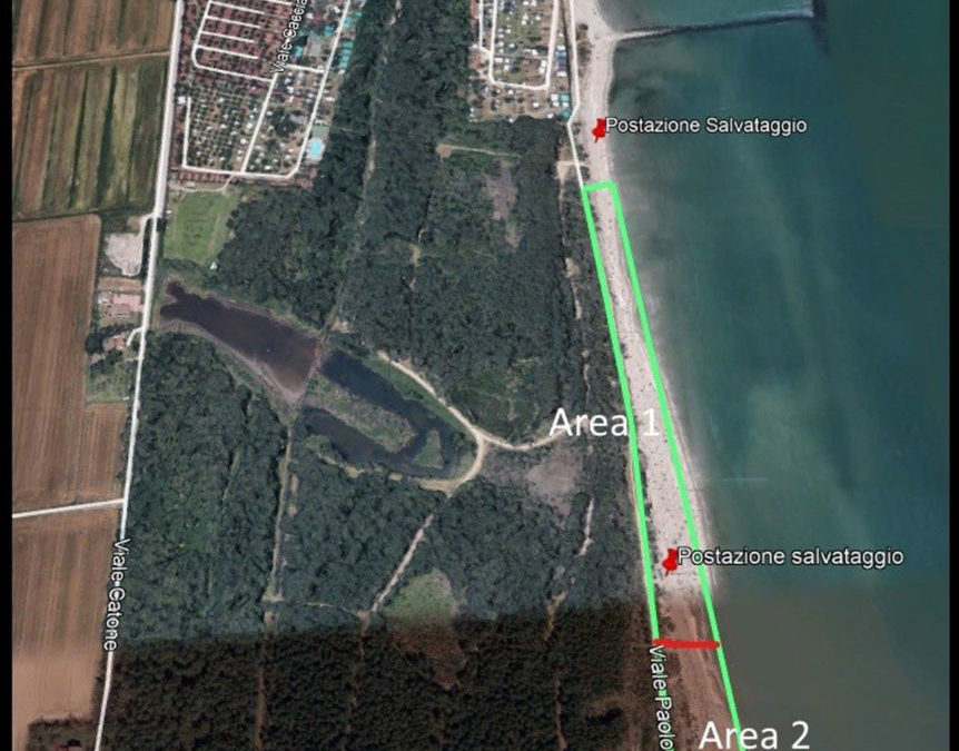 Lido di Dante è la tredicesima spiaggia naturista riconosciuta d'Italia