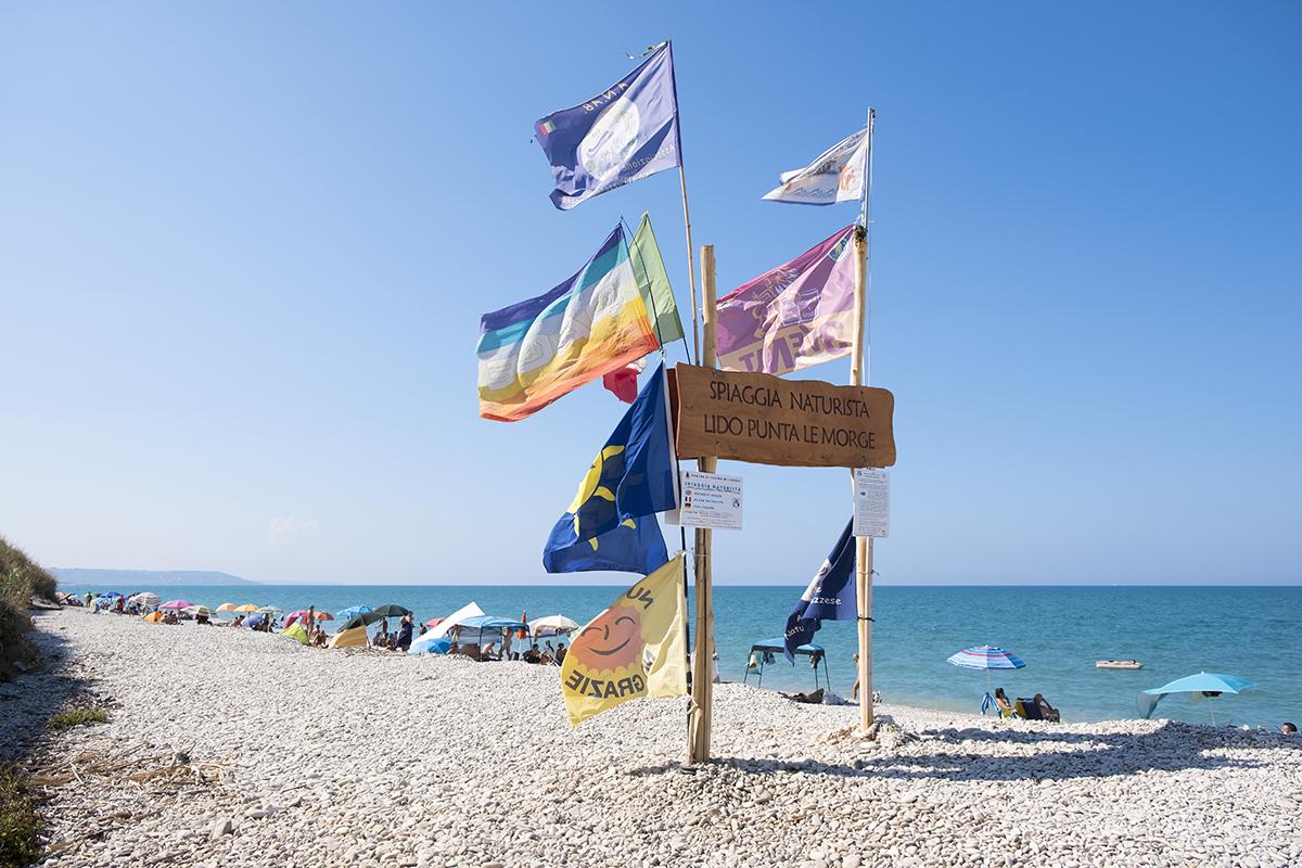 Bandiere Lido Punta Le Morge
