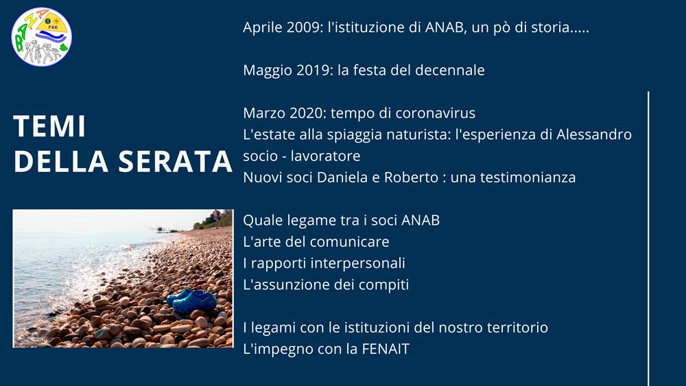 Web-Anab | Dialoghi e confronto - 3 febbraio 2021 - AbruzzoNaturista