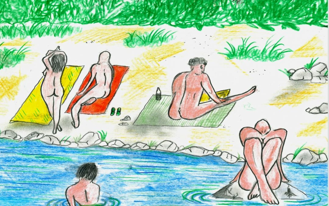 Nuova spiaggia naturista sul fiume Trebbia!