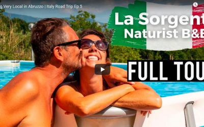 Naked Wanderings- Tour Italia 2021- La Sorgente – Abruzzo