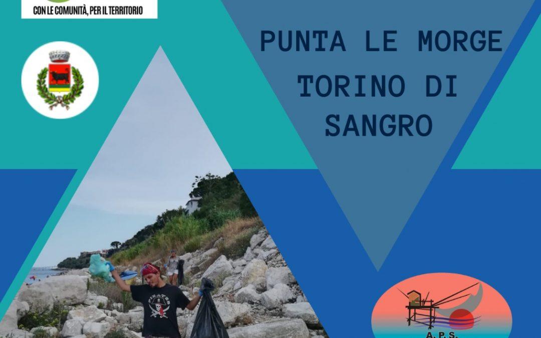RIPULIAMO – 3 settembre 2021, h. 17.30 – Punta le Morge